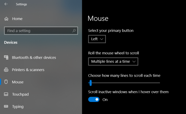 Windows 10 mouse scrolling automatically up or down