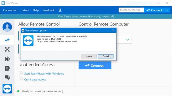How to fix TeamViewer stuck on Initializing Display Parameters