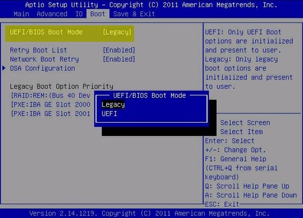 How to directly boot into UEFI or BIOS firmware on Windows reboot