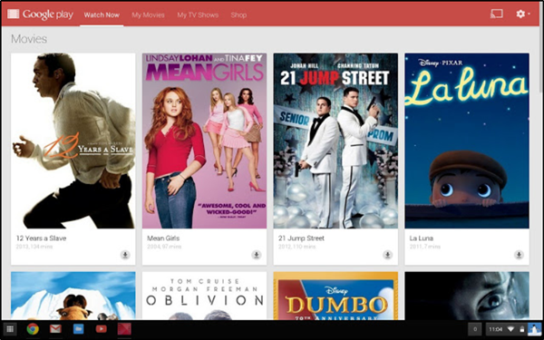 Google Play Movies & TV Chrome extension for Chrome