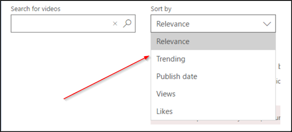 Search for & find relevant content in Microsoft Streams