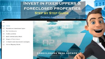 Fixer upper foreclosure investing and flip house