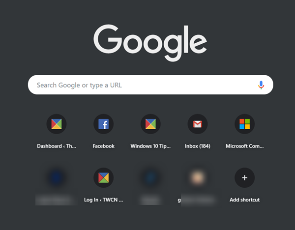 Enable Google Chrome Dark Mode