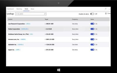 Banking and Investments apps for Windows 10