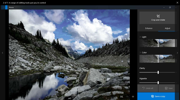 Web Image Search feature of Photos app