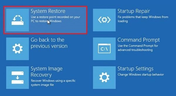 System Restore stuck or hung up? Here's how to stop System Restore!