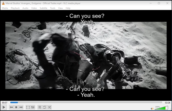 Display two subtitles simultaneously in VLC