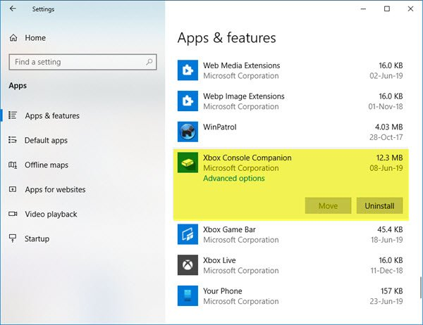 in that place are few Microsoft apps which are either provisioned or installed every bit purpose of the OS How to uninstall Xbox Console Companion app inwards Windows 10