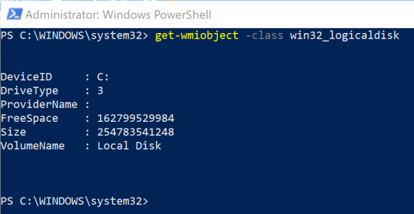 Windows PowerShell is a powerful utility that comes preinstalled on Windows  How to purpose Windows PowerShell to notice information almost Hard Drive