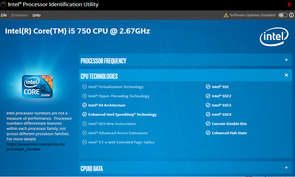 Intel VT-X or AMD-V