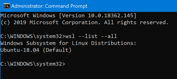 Microsoft allows a user to run multiple Linux distros based on  How to import too export WSL distros on Windows 10