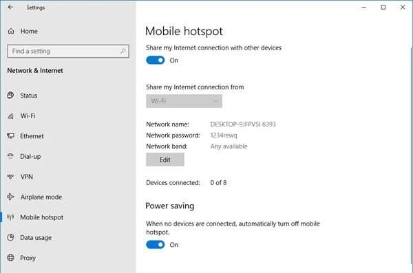 which lets y'all portion your existing mesh connexion to other devices over WiFi How to halt Mobile Hotspot from Turning off inwards Windows 10