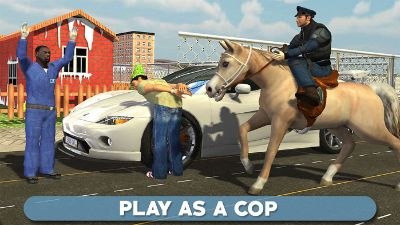 Police Horse Chase 3D