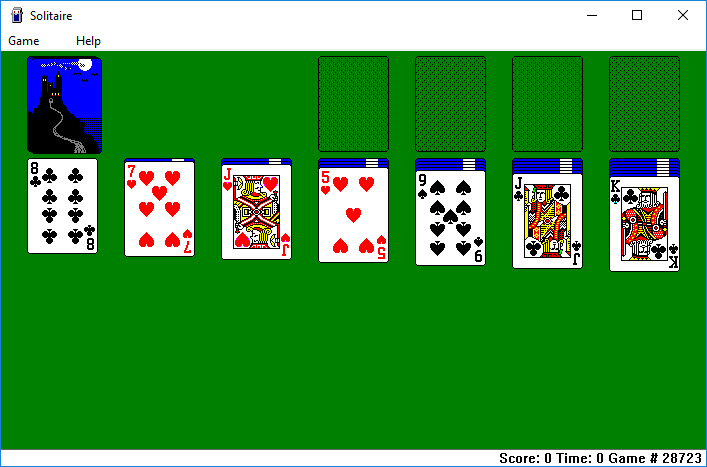 Solitaire and Minesweeper on Windows 10