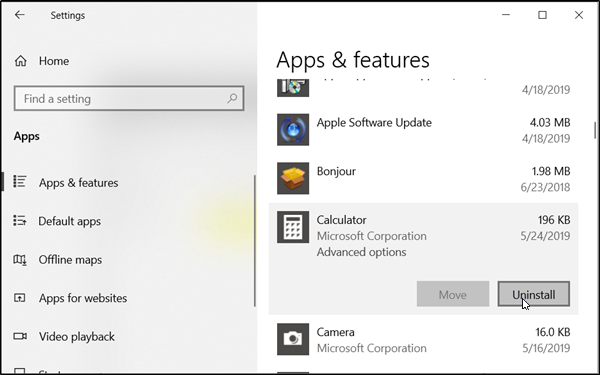 ships amongst many useful apps similar the Calculator app How to uninstall Calculator App on Windows 10