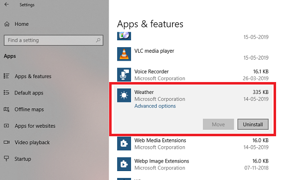 Weather is ane of the favorite topics to commence a conversation amongst near everyone How to uninstall Weather App inward Windows 10