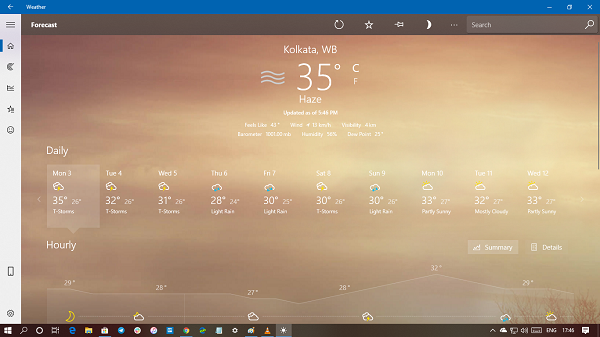 How to uninstall Weather App in Windows 10
