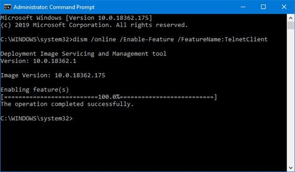 is a protocol meant for cyberspace or LAN communication Telnet is non recognized equally an internal or external command on Windows 10