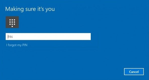 How to enable or disable PIN History in Windows 10