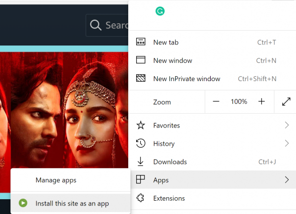 Install Amazon Prime Video app on Windows 10