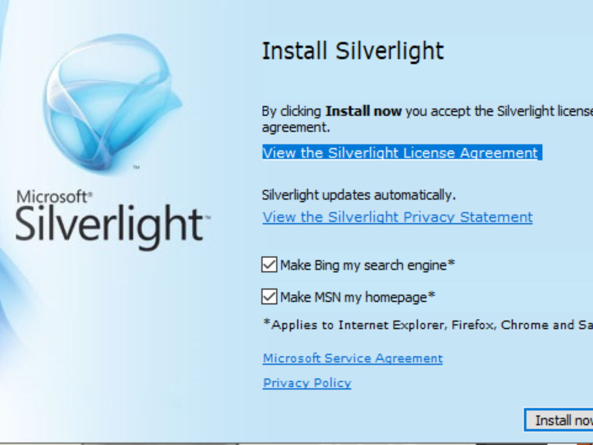 Install microsoft silverlight for mac
