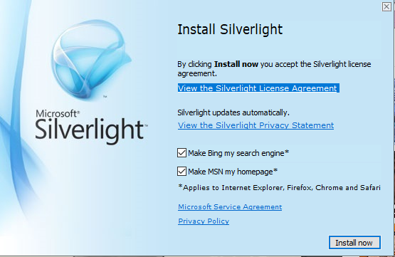 Download & install Silverlight 5 on Windows 10