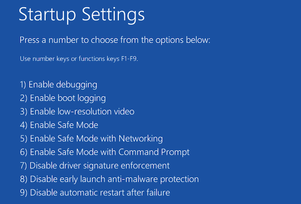 System Restore stuck or hung up