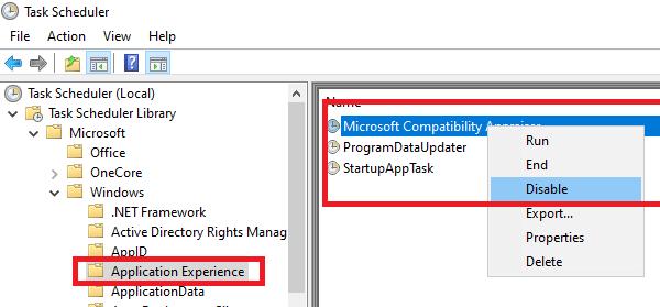 Disable Microsoft Compatibility Appraiser Tasks