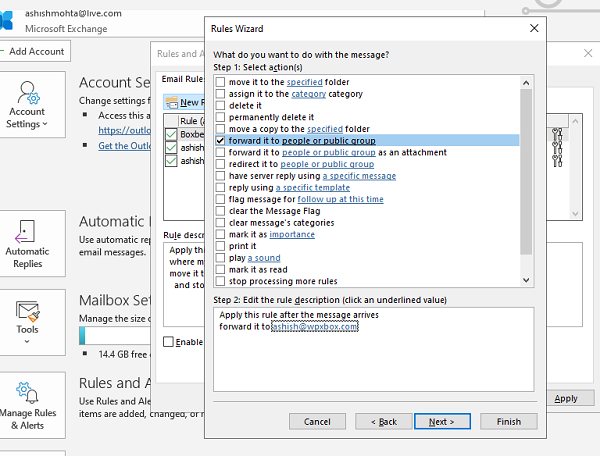 Automatically Forward Email Outlook