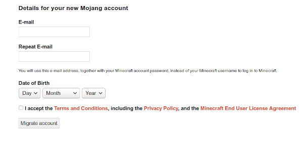 How To Migrate Or Import Minecraft Account