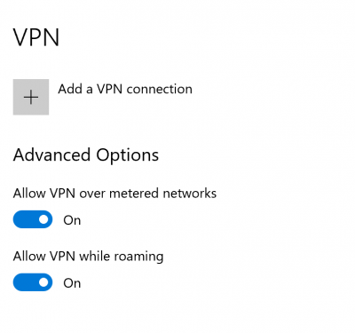 Fix VPN connects and then automatically disconnects on Windows 10