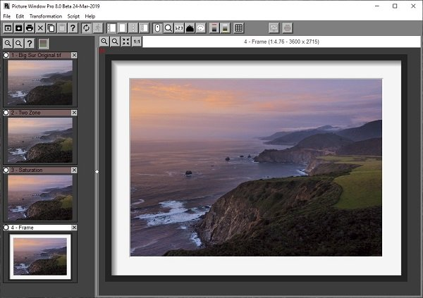Picture Window Pro offers Professional editing features for free