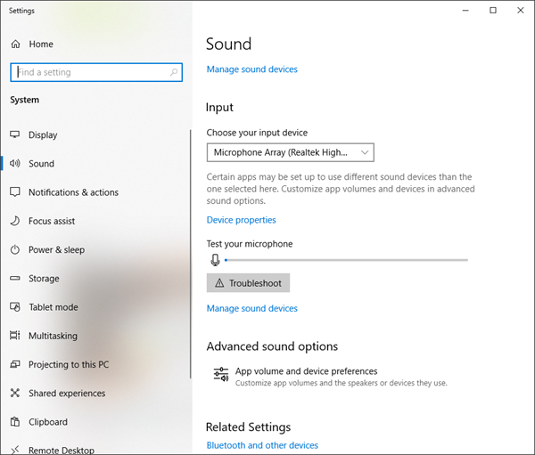 How to reset App Volume and Device Preferences in Windows 10