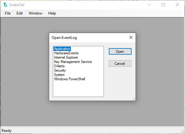 Monitor Windows Log Files with SnakeTail