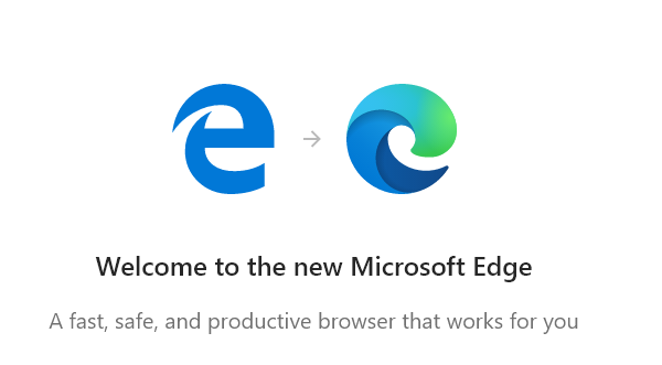 Microsoft Edge Legacy to Chromium