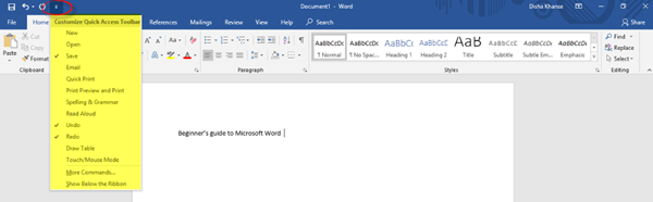 Microsoft Word Tutorial - The Windows Club