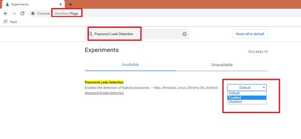 Password Leak Detection feature in Google Chrome