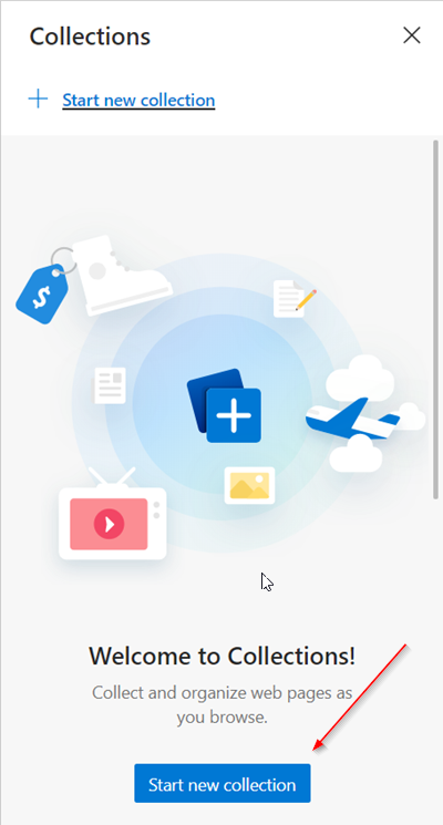 Microsoft Edge Collections