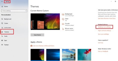 How to change Icons in Windows 10