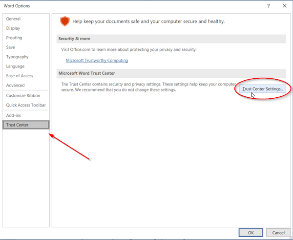 You are attempting to save a file that is blocked by your registry policy setting'