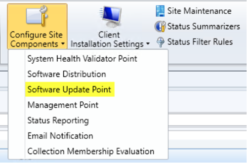 Enable Configuration Manager to deploy Office 365 updates using SCCM