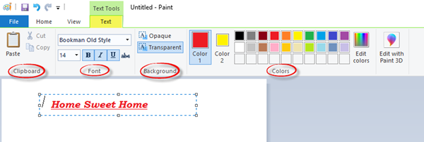 How to Open and Use Paint in Windows 10