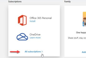 How to cancel subscription or turn off Office 365 recurring billing