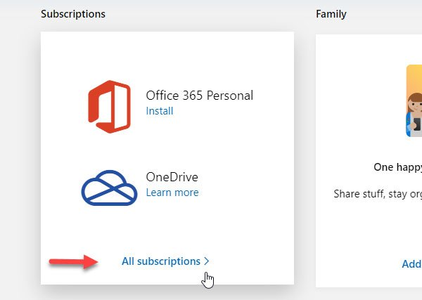 How to cancel Office 365 subscription