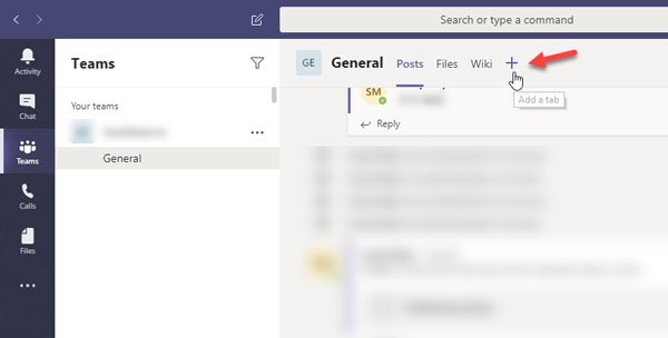 How to install app and add it as a tab in Microsoft Teams