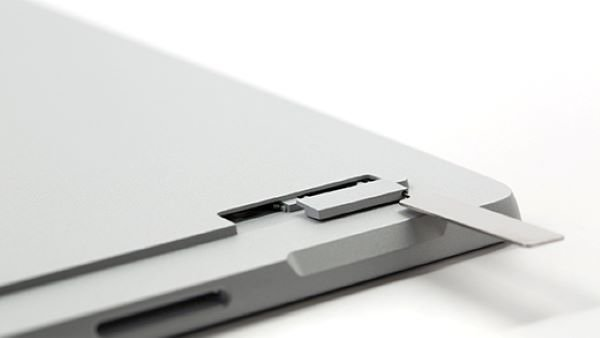 Insert SIM card Surface Pro 5th Gen with LTE Advanced 2