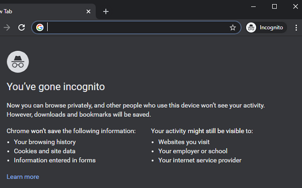 Right-click not working on Chrome or Firefox browser