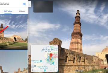 How to use Google Maps Street View feature