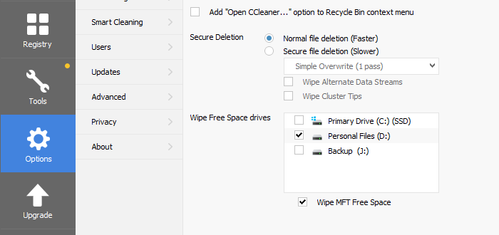 How to wipe Hard Disk and MFT clean