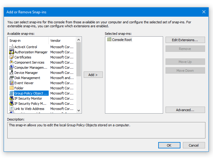 How to apply Group Policy to non-administrators in Windows 10
